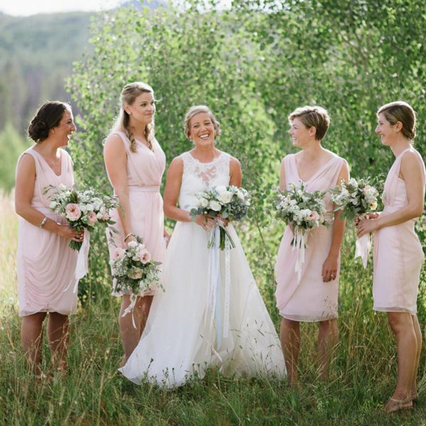 Bride in Aspen wedding 2